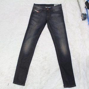 diesel jean super slim livier blue jean sz 26